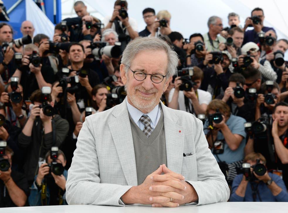 Legendary Hollywood director Steven Spielberg