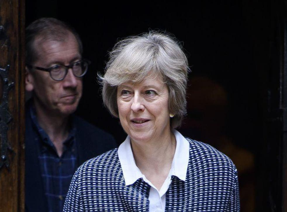 Ms May has rejected calls to hold an early general election