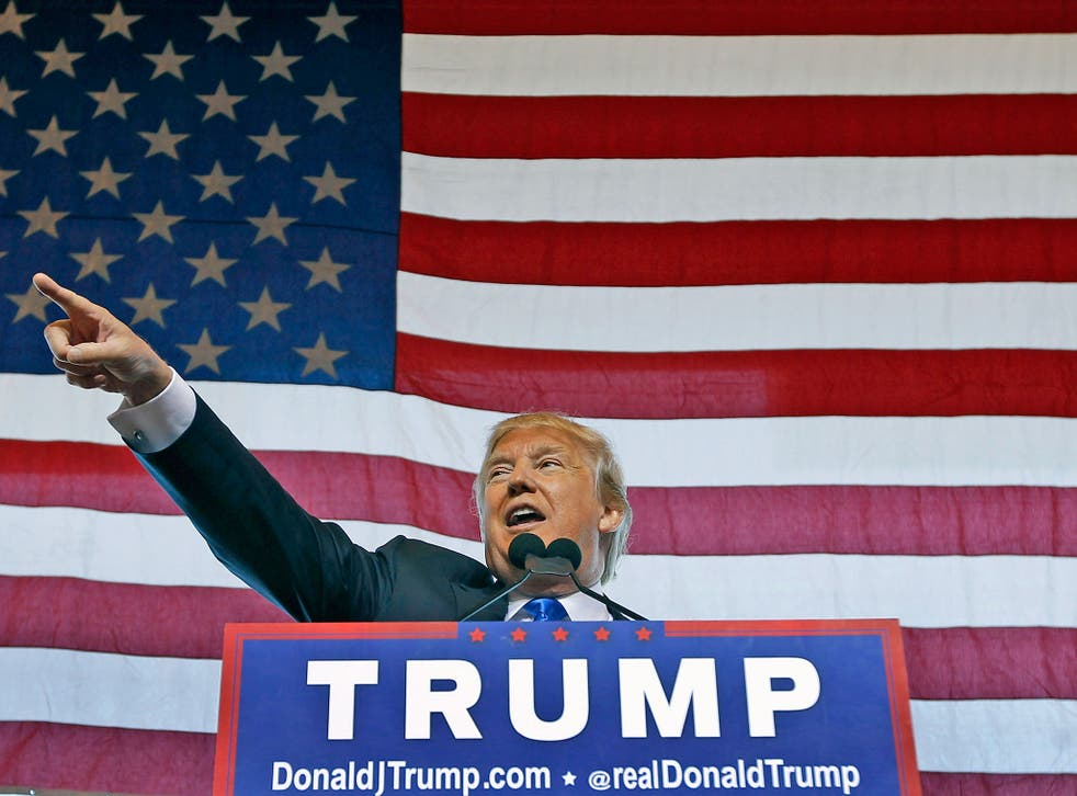 Businessman Donald Trump was recently named the Republican presidential candidate