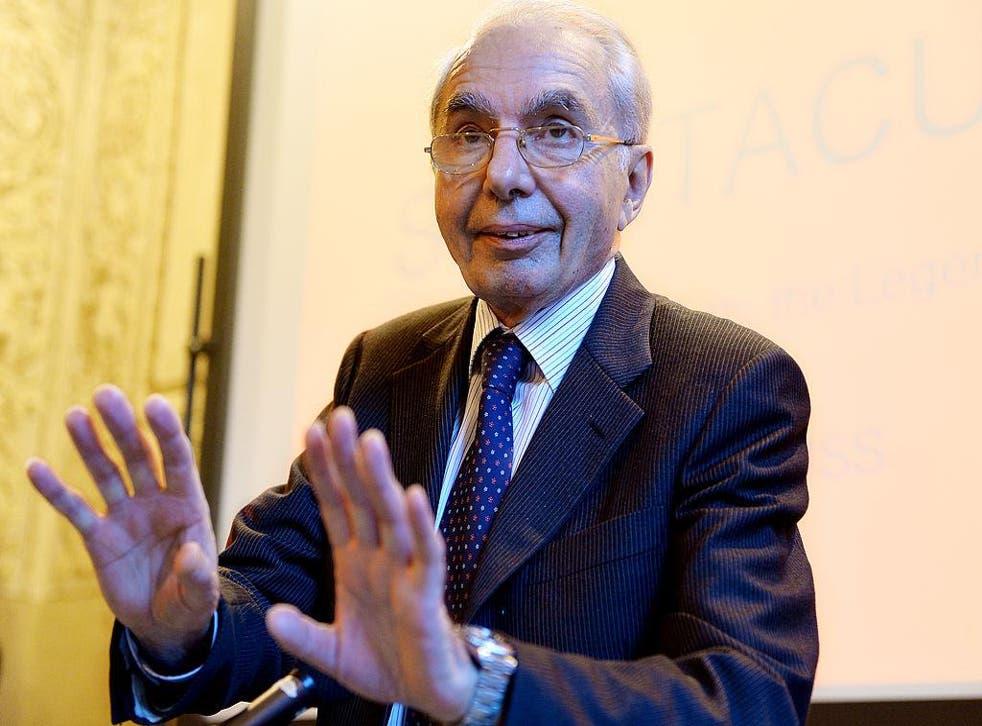 Italy's former prime minister Giuliano Amato helped draft the Lisbon Treaty