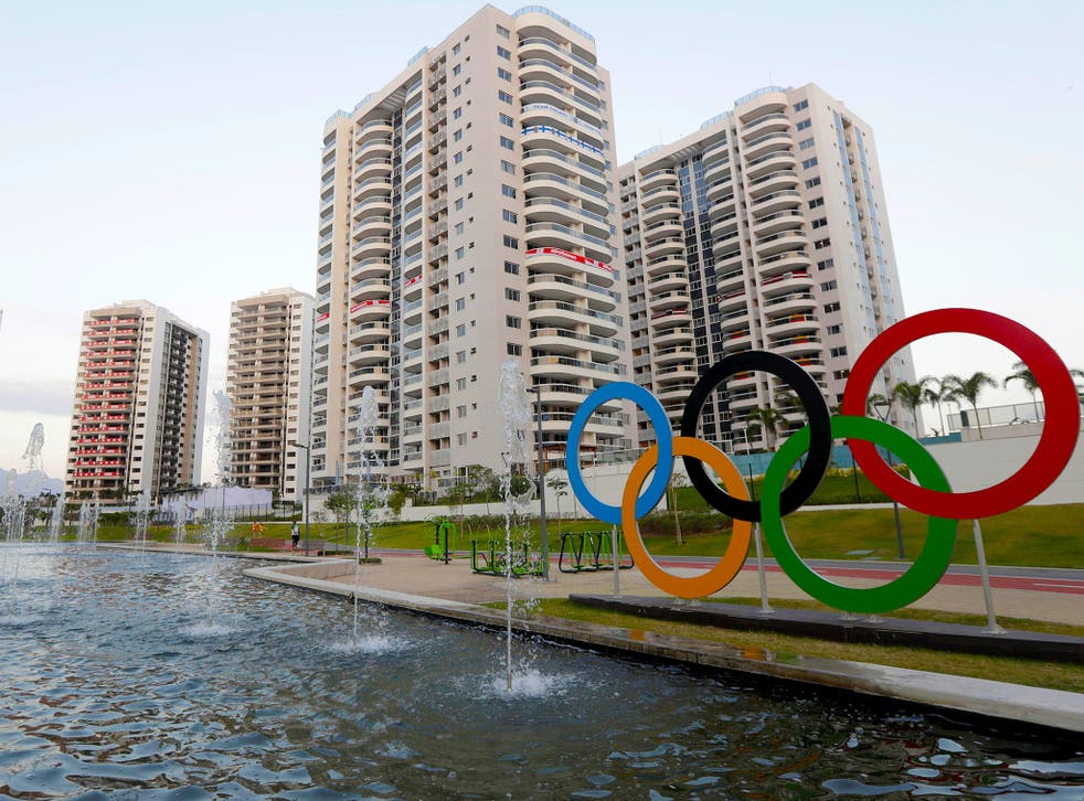 The Olympic village will house around 18,000 athletes at the height of the Games
