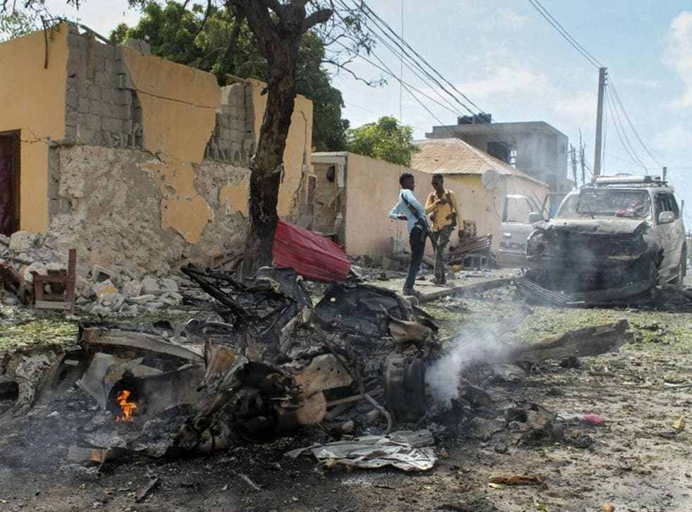 Al Shabaab has carried out a series of deadly attacks in Somalia to try to topple the Western-backed government