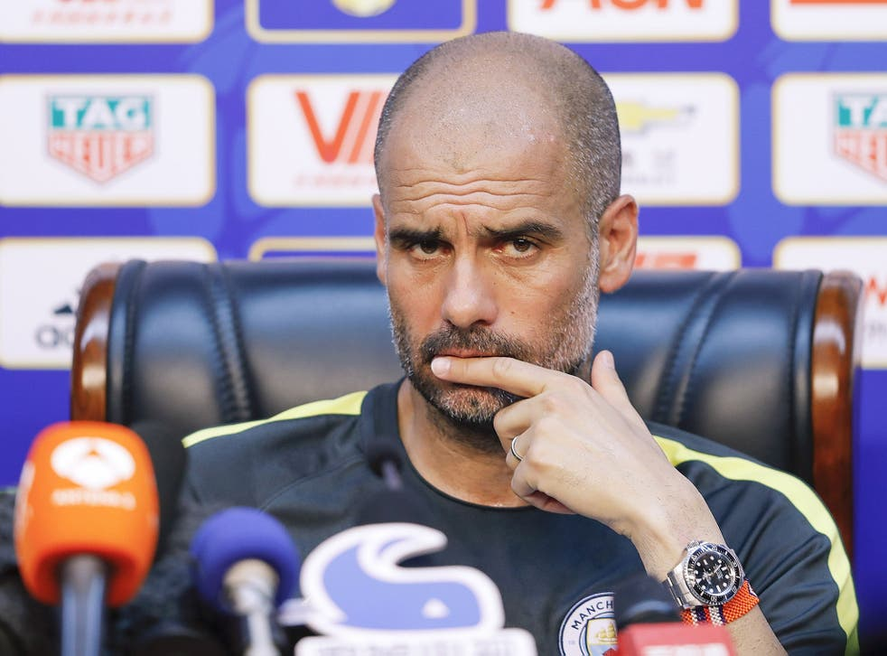 Pep Guardiola is looking to shape his new squad into a Premier League-winning side