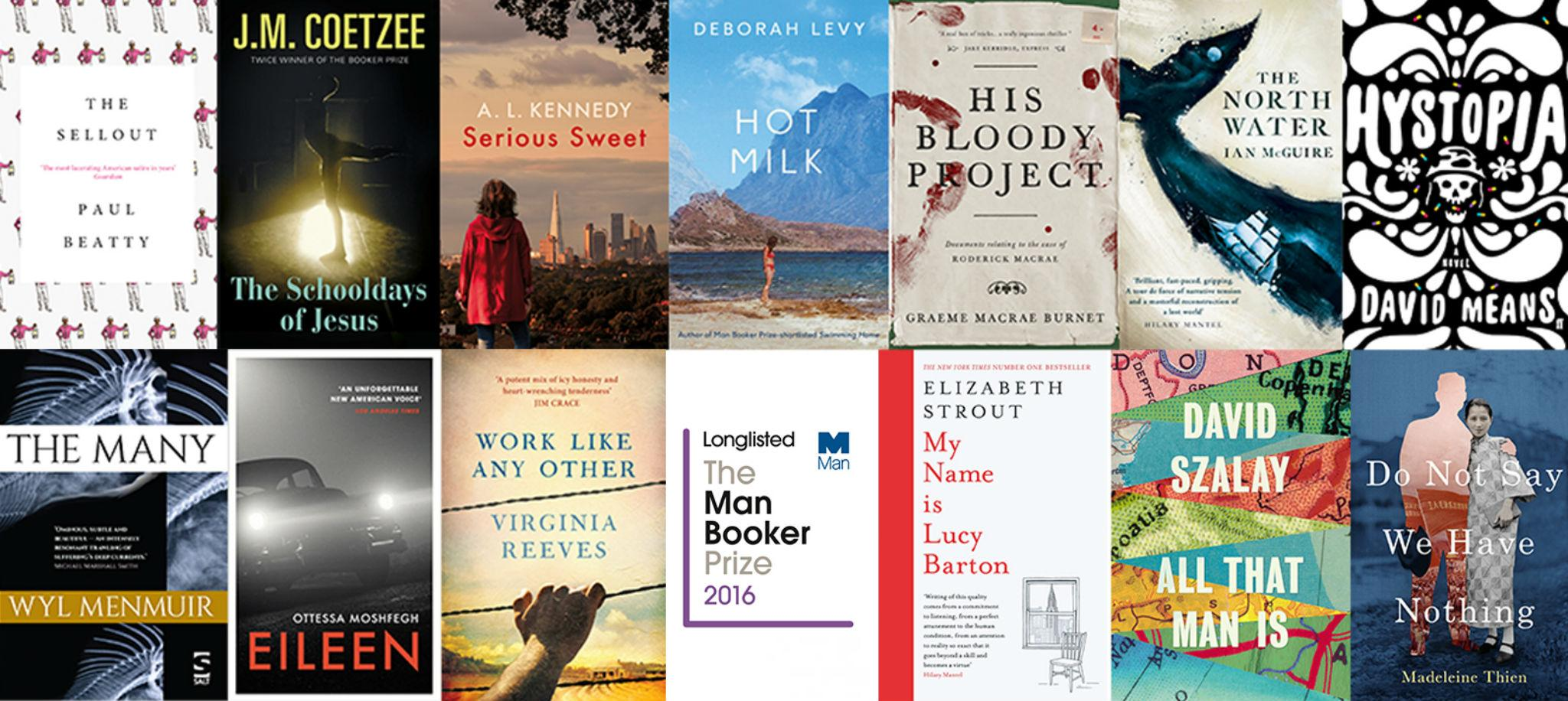 Man Booker Prize 2016 longlist: Five UK authors to compete against double winner JM Coetzee
