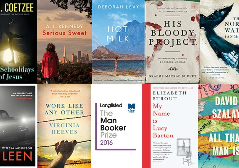 Man Booker Prize 2016 Longlist Five Uk Authors To Compete Against