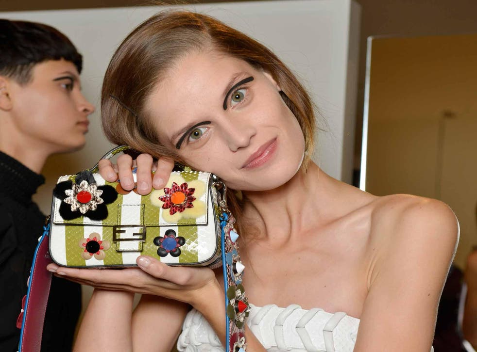 Fendi's micro baguette manages to be both small and beautifully functional