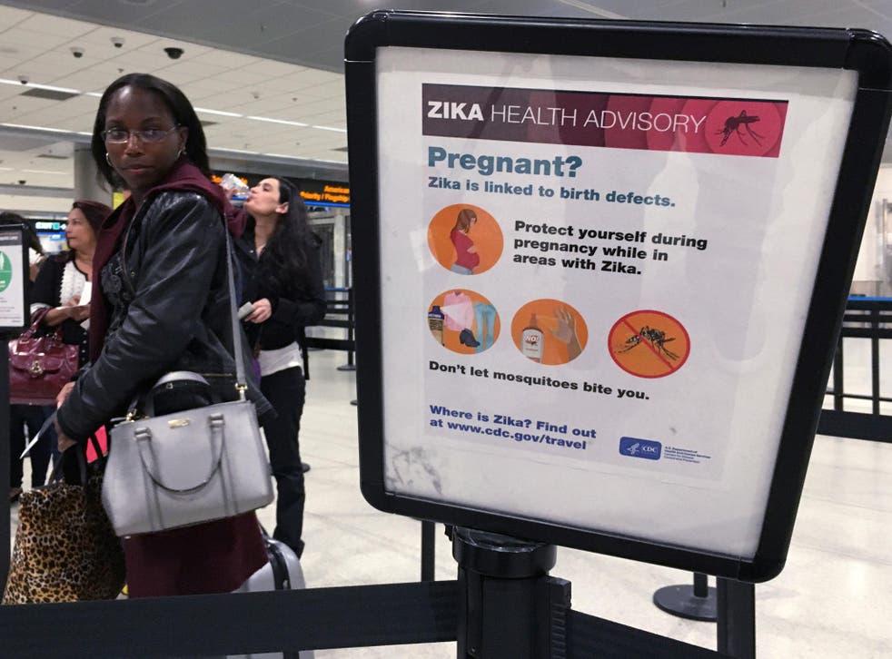Health advisory greeting American travellers returning home