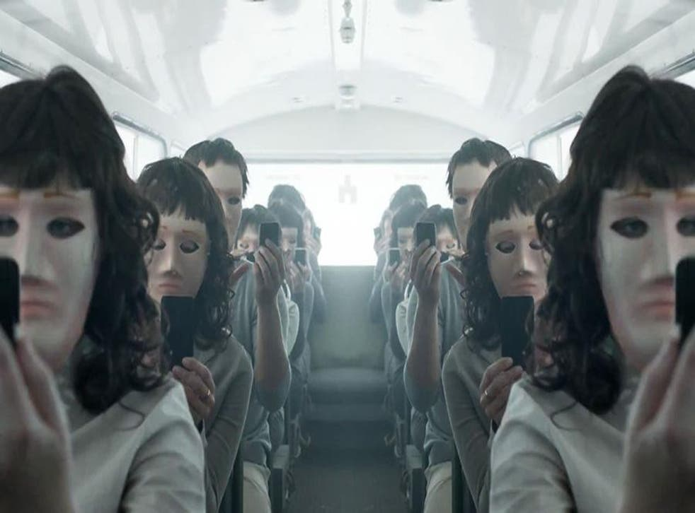 The first part of Black Mirror season three airs on 21 October