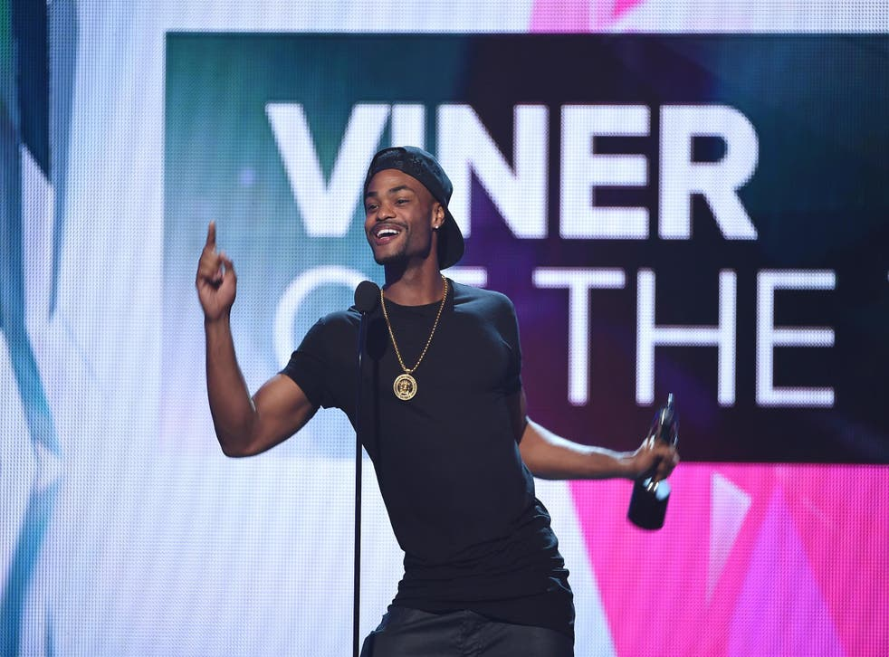 Internet personality Andrew B. Bachelor, aka King Bach accepts the award for Viner of the Year at VH1's 5th Annual Streamy Awards at the Hollywood Palladium on Thursday, September 17, 2015 in Los Angeles