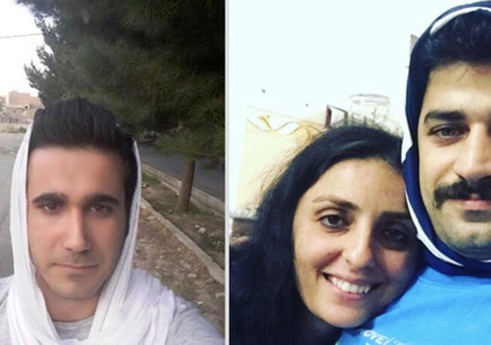 Men in Iran are wearing hijabs in solidarity with their wives who are  forced to cover their hair