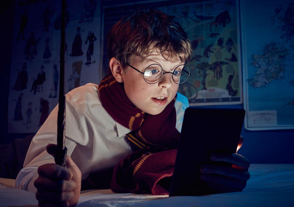 superfan toby lestrange had read all of the harry potter books by the age