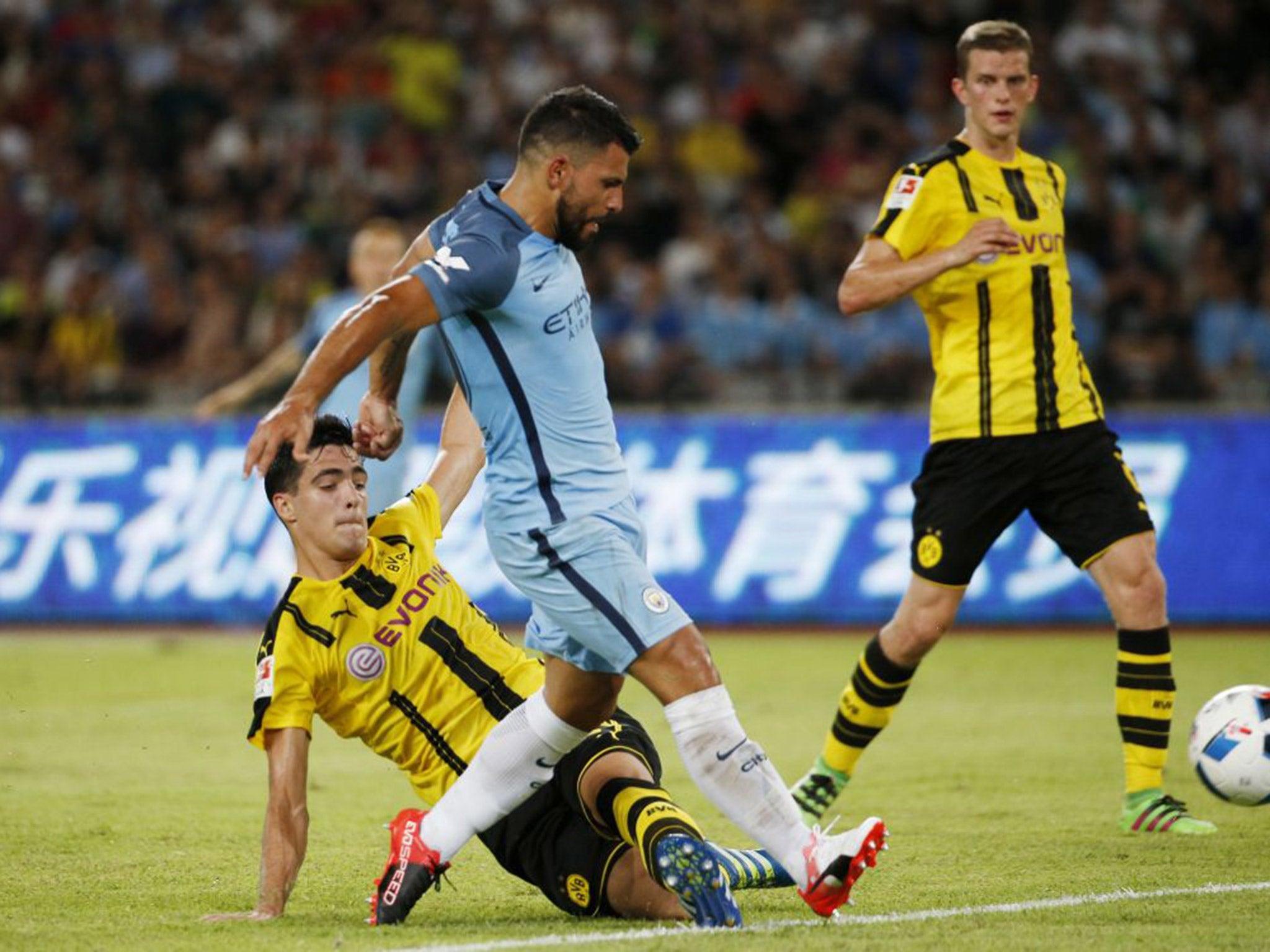 Manchester City Vs Borussia Dortmund Report Angus Gunn