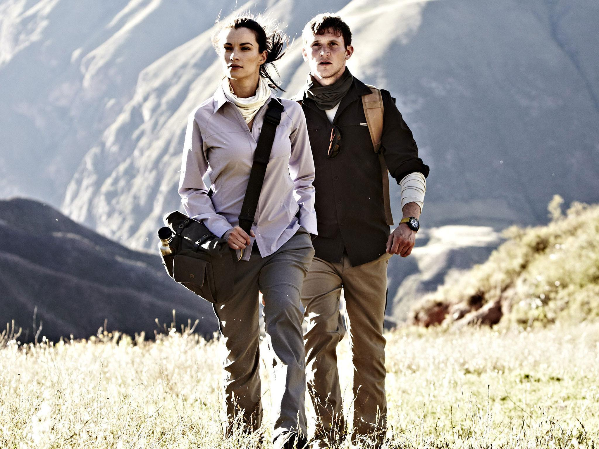 Watch - Hiking stylish pants video