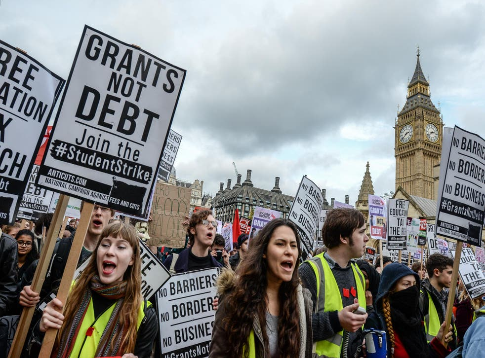 The demo is set to take place one year on from another similar one in the capital, pictured, which saw thousands of students march against cuts to free education
