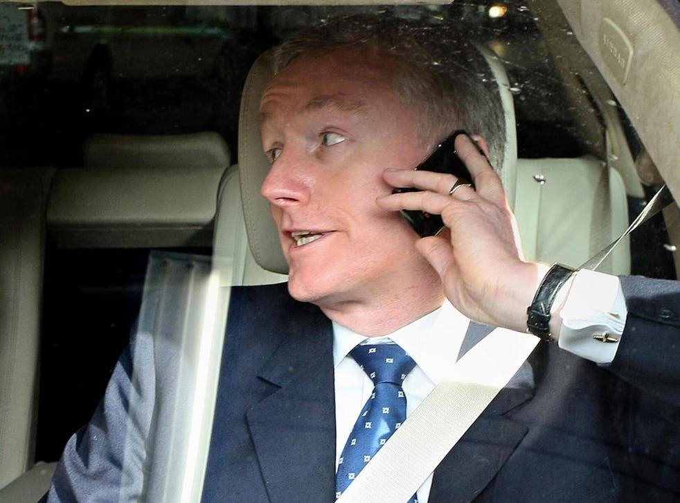 Sir Fred Goodwin, former Chief-Executive Officer of the Royal Bank of Scotland
