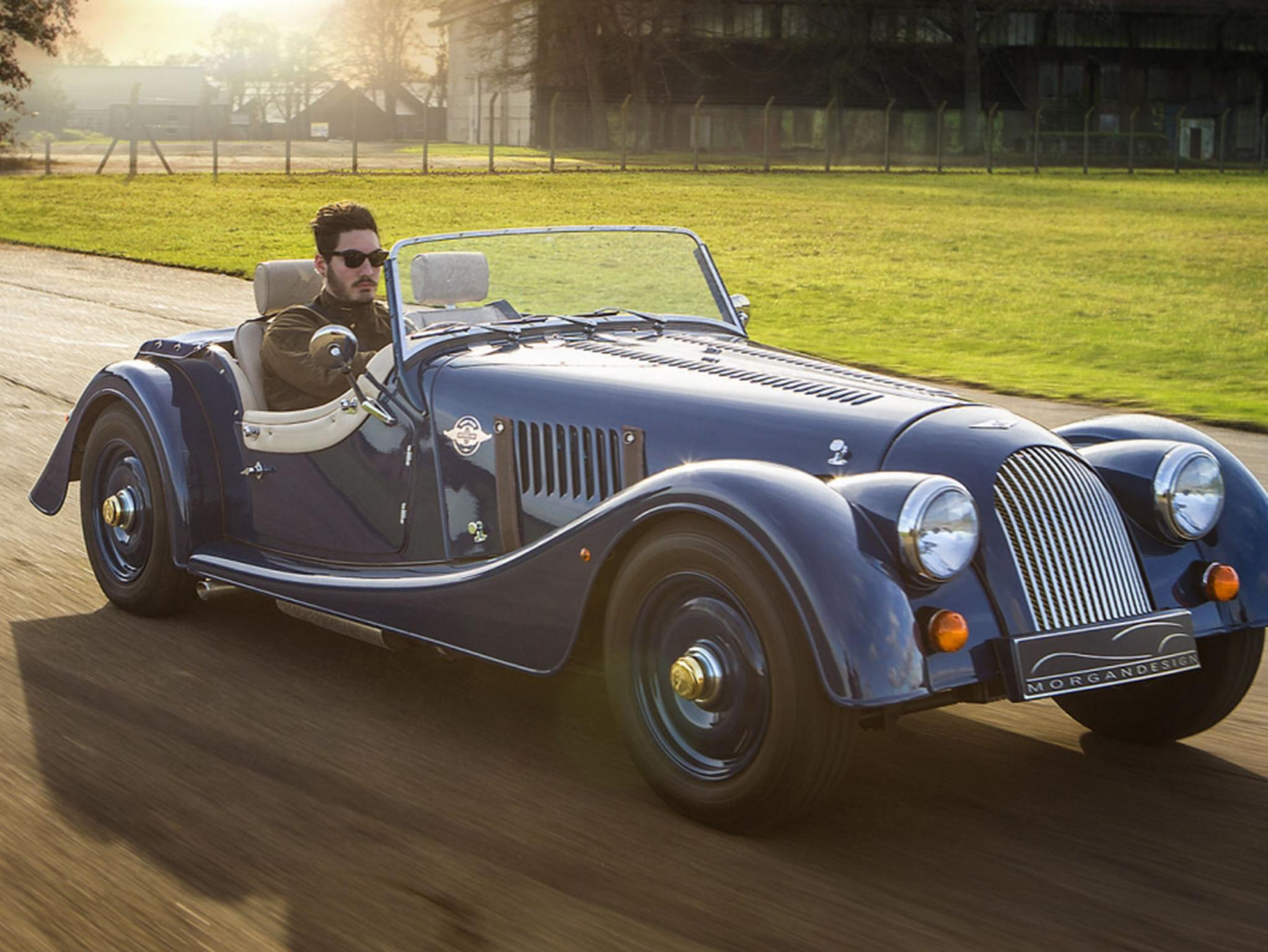 Morgan 4/4 80th Anniversary car review: 'a picture of delight'   The  Independent