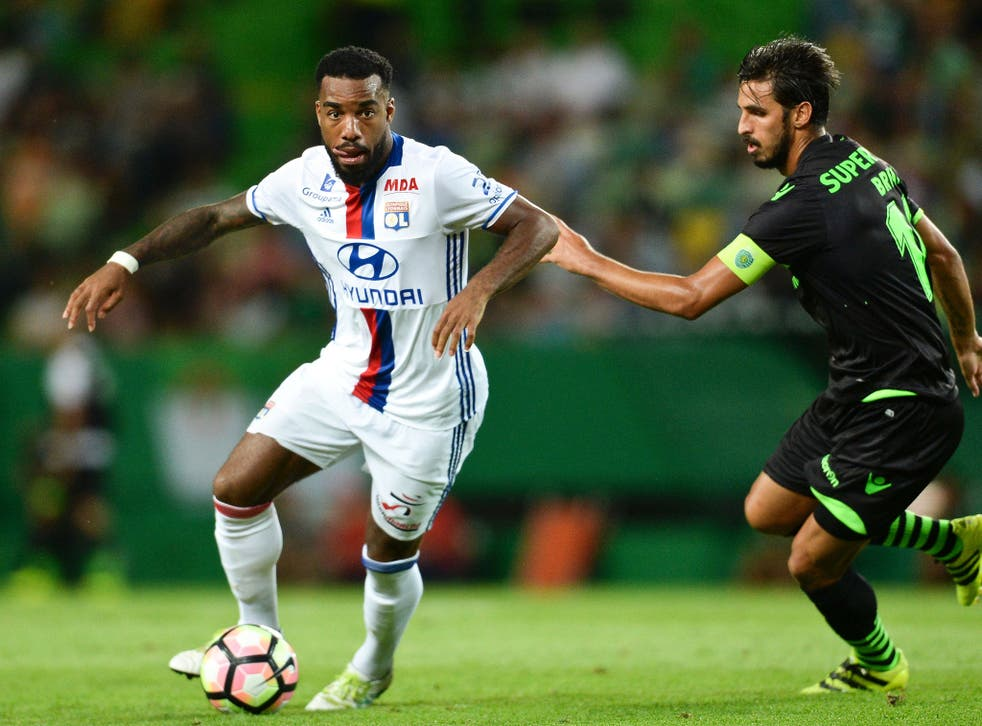 Arsenal target Alexandre Lacazette returned to action for Lyon this month