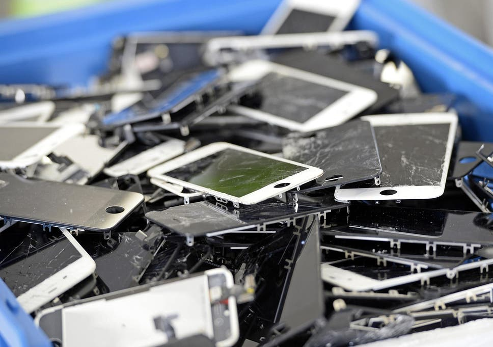 smartphone screens could soon repair themselves thanks to