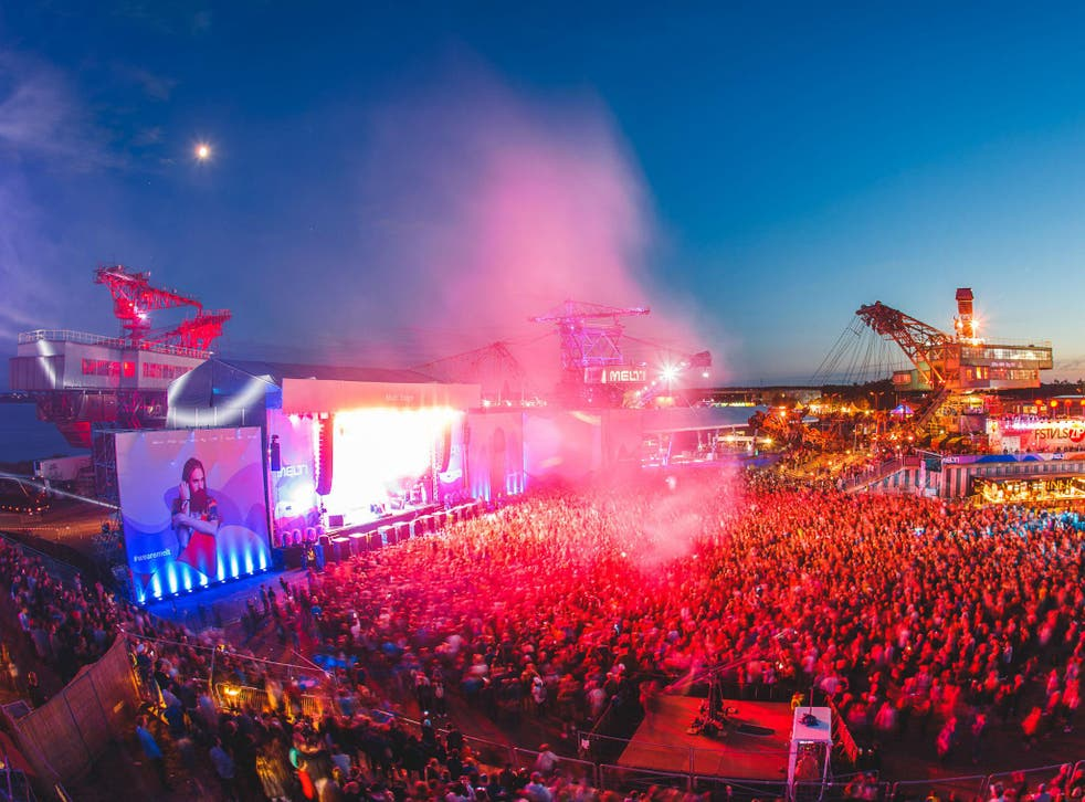 Germany's Melt! festival offers a huge selection of electro, dance and alternative indie acts