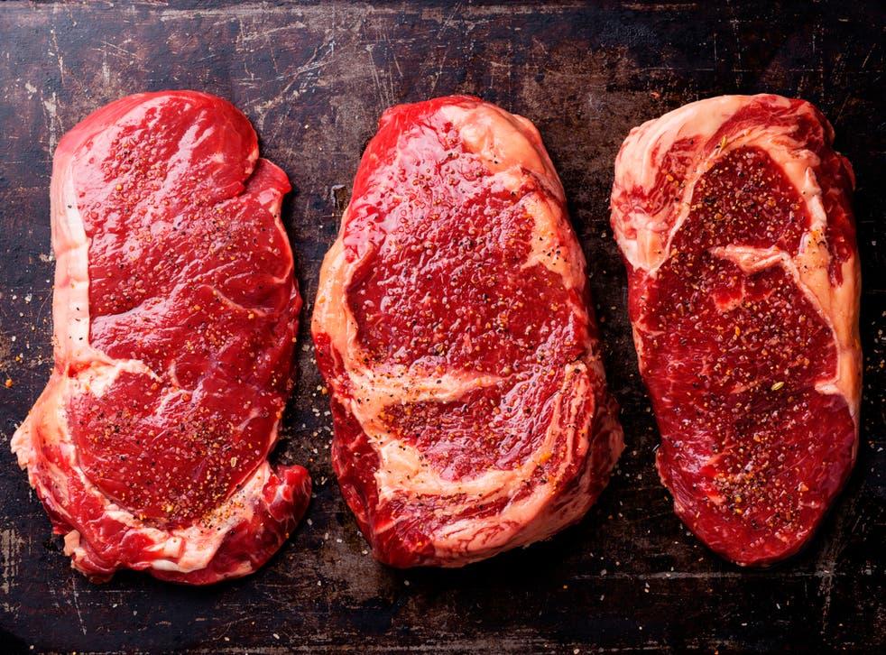 Beef steak (file pic)
