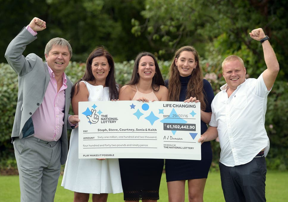 Euromillions £61m jackpot winners only bought ticket after