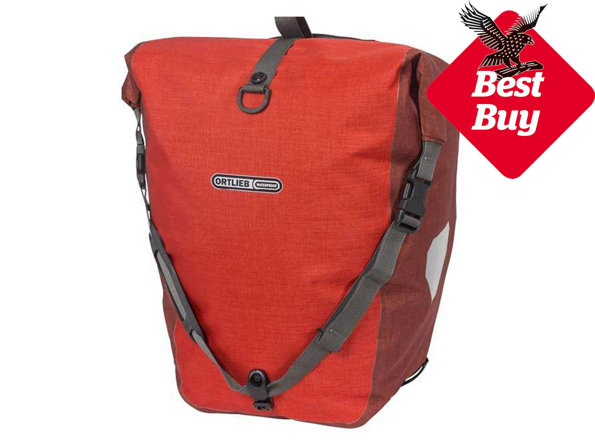 644cd3422b9 Ortlieb is the go-to brand for most tourers thanks to its panniers   waterproof and tear-resistant Cordura fabric
