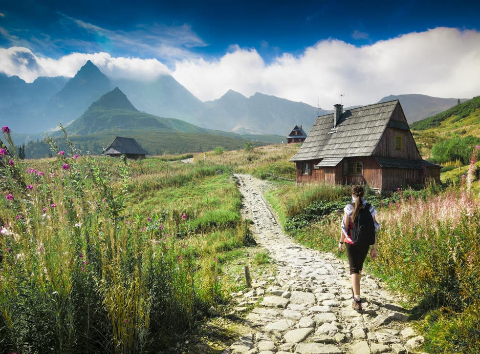 Many travel to Poland to take in the country's historic sites, but its mountain ranges offer equally spectacular views