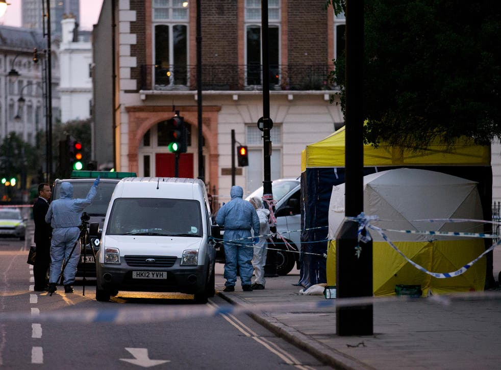 Police say they are still investigating the motives for Wednesday night's stabbing in Russell Square