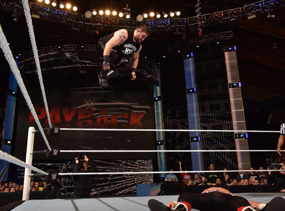 Kevin Owens feels he has a point to prove to the WWE