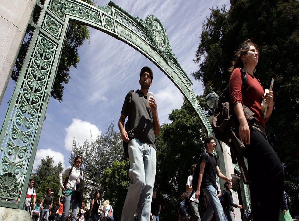 UC Berkeley, pictured