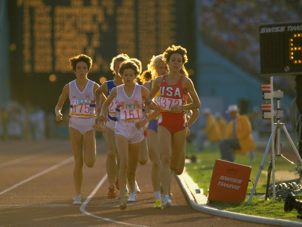 Great Olympic Friendships Zola Budd Mark Decker A Catastrophic Collision And The Reconciliation That Followed The Independent The Independent