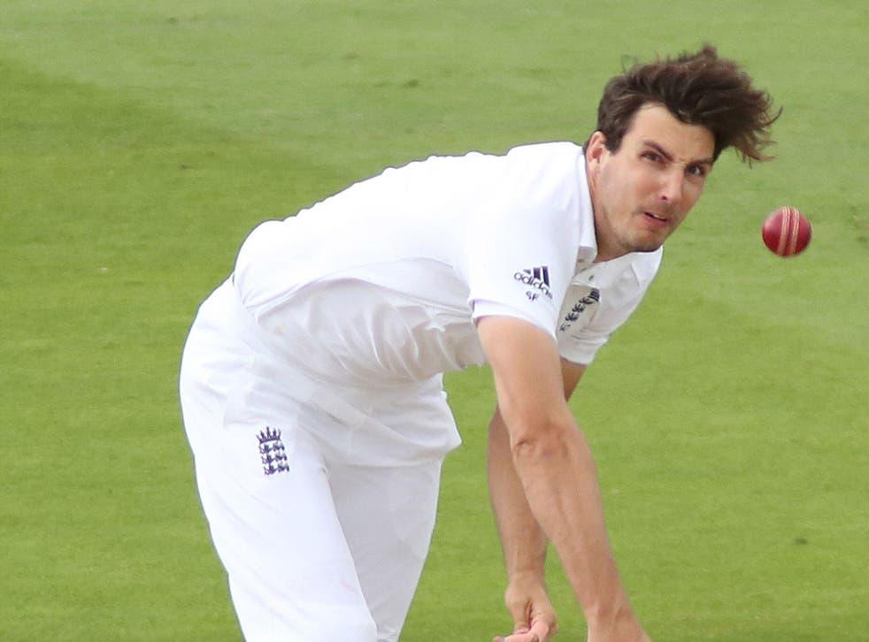 Steven Finn struggled against Pakistan at Edgbaston