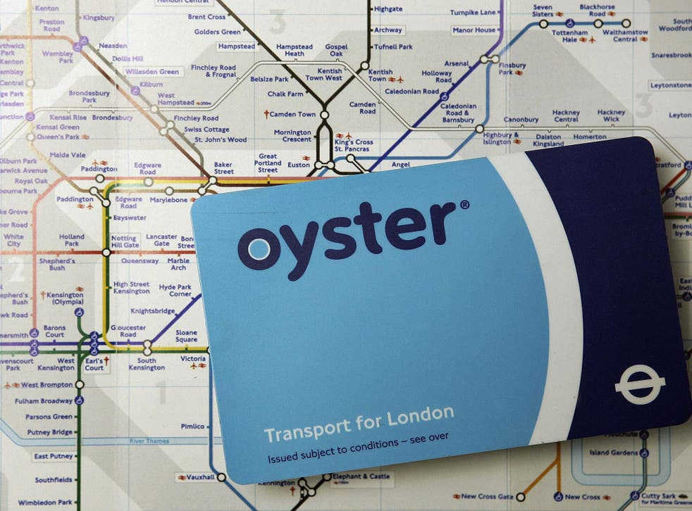 Oyster cards are classed as 'dormant' after 12 months of inactivity