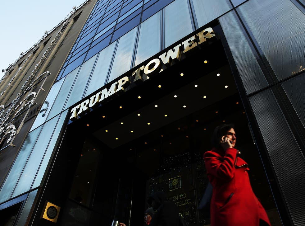 The property tycoon turned Bonwit Teller's flagship department store in New York into Trump Tower(G