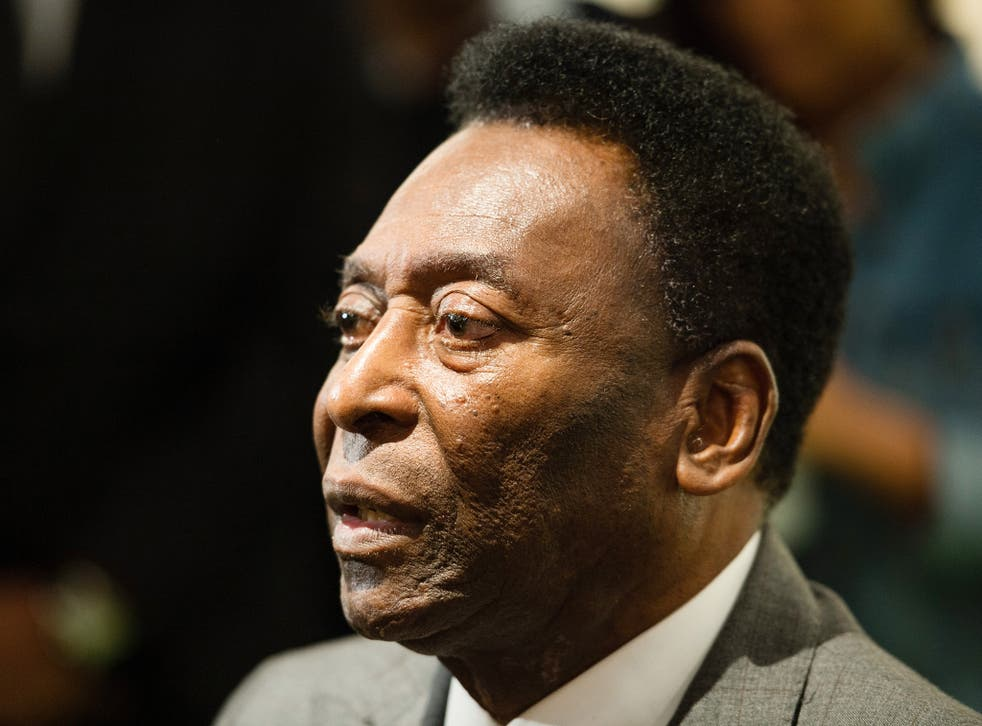 Pele has been forced to withdraw from the Olympic opening ceremony due to poor health