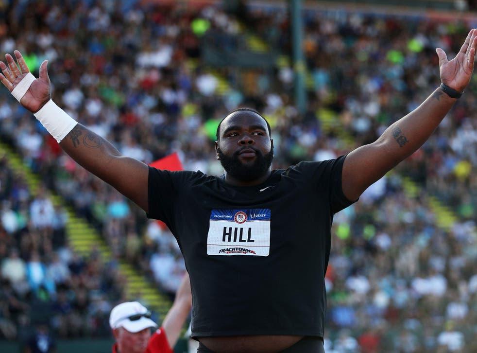 Darrell Hill participates in US Track & Field trials in June <em>Patrick Smith/Getty</em>