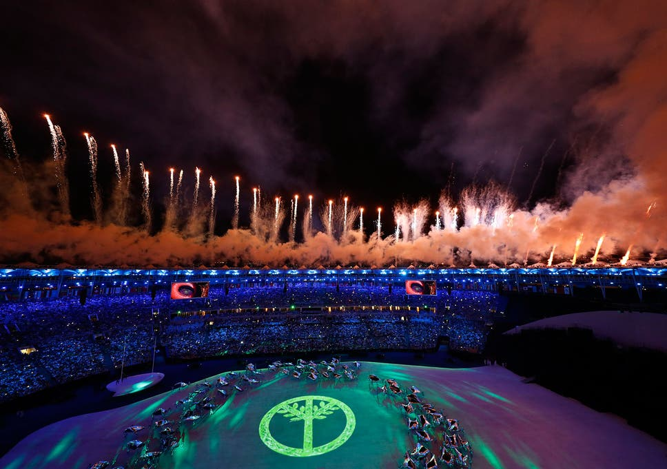 Rio 2016: An opening ceremony of song, dance and escape