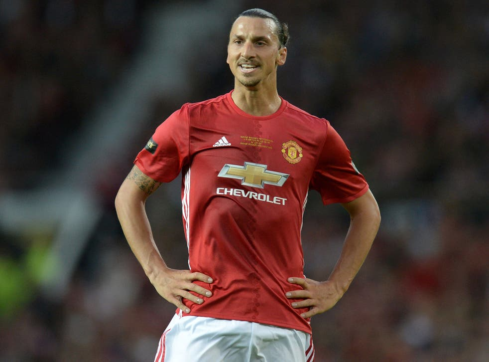 Zlatan Ibrahimovic will lead Manchester United's attack this season