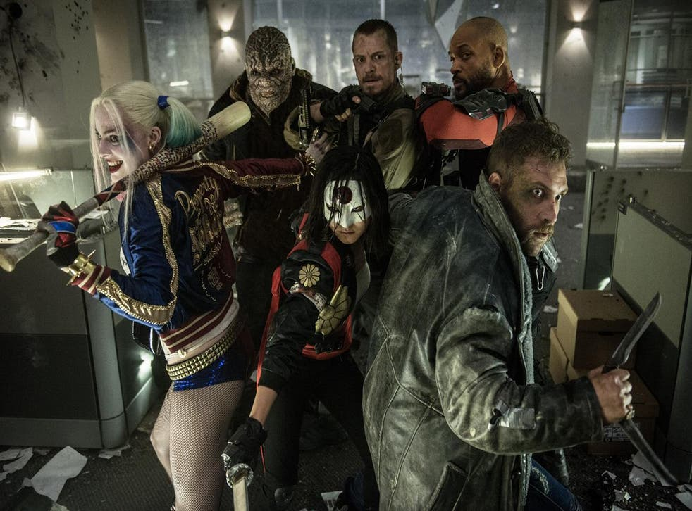 A scene from 'Suicide Squad'