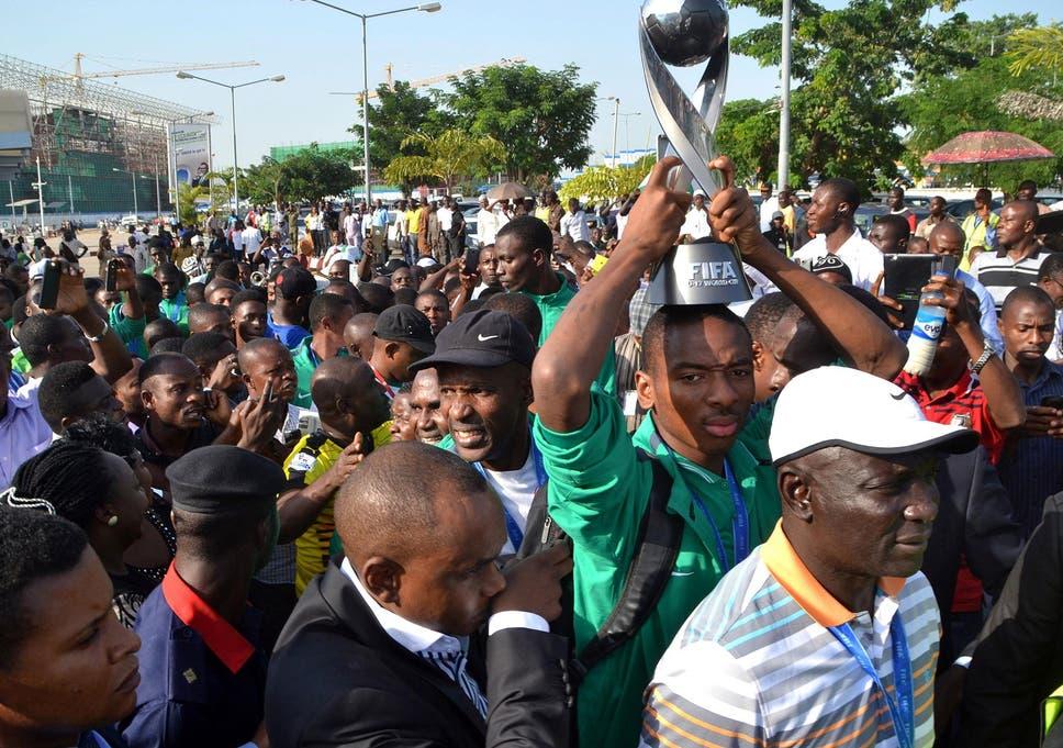 Nigerian Under-17 football team sees half of squad fail age