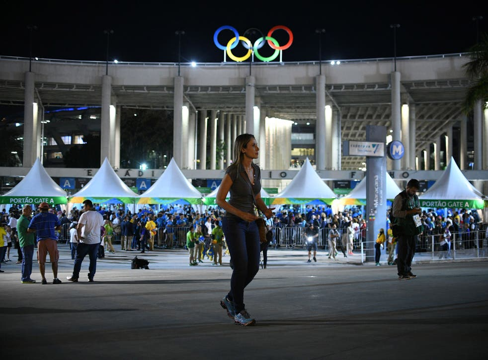 Fans were left queuing to gain entry to the Olympic Park for hours