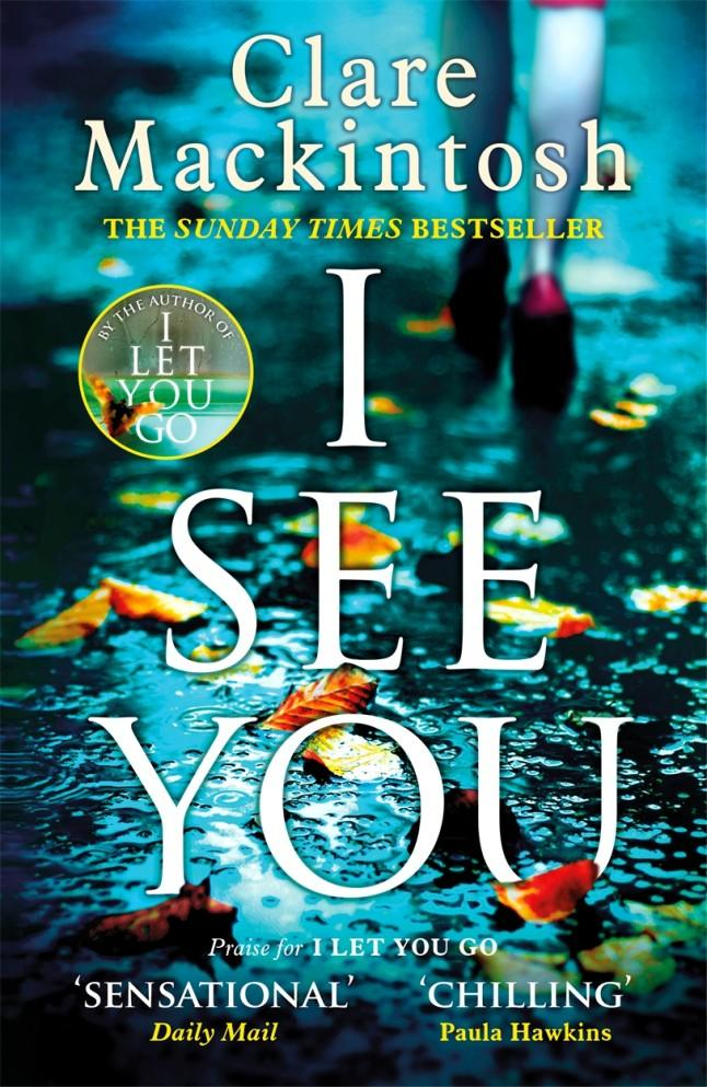 book review i see you by clare mackintosh a clever thriller takes
