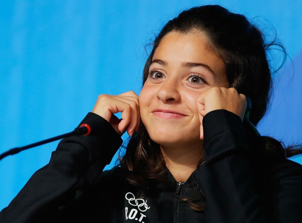Olympic swimmer Yusra Mardini swam for three hours in the ocean and saved fellow refugees as she fled war-torn Syria