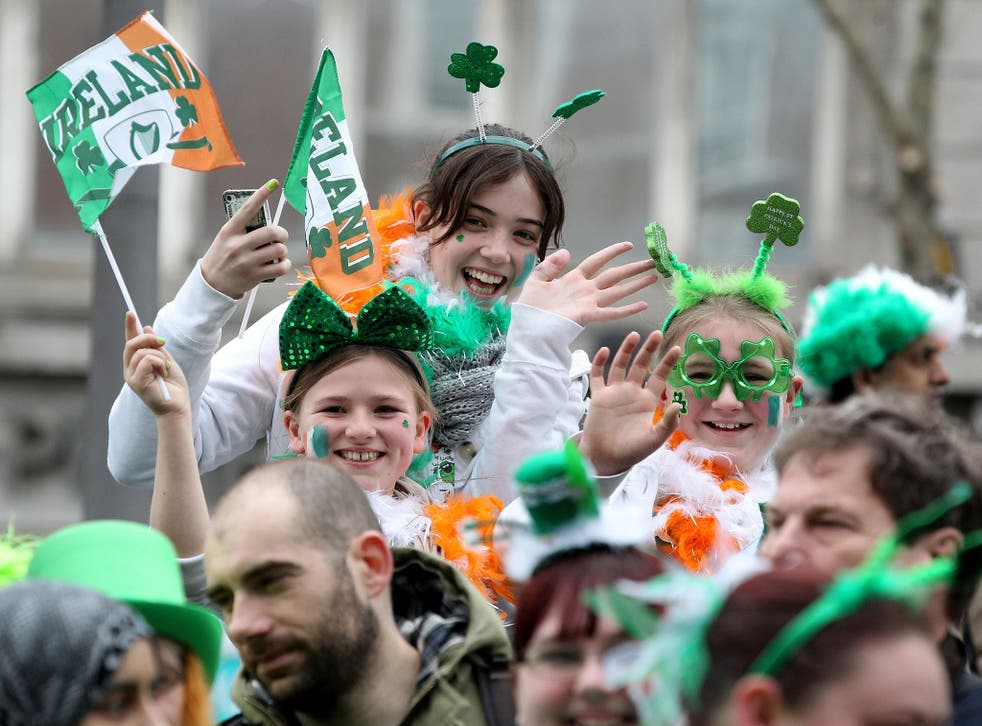 St Patrick's Day celebrations: the likelihood of a united Ireland has increased dramatically since the Brexit vote