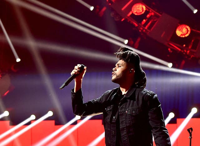 The Weeknd. Credit: Kevin Winter/Getty