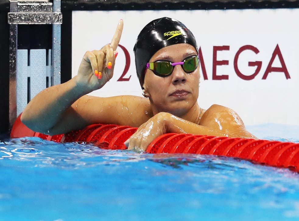 Efimova was initially banned along with six other Russian swimmers