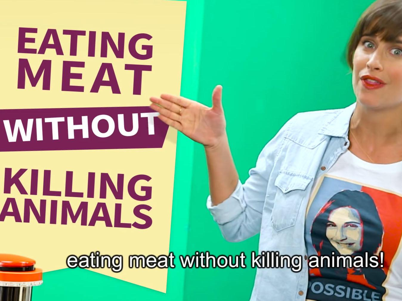 killing animal for food