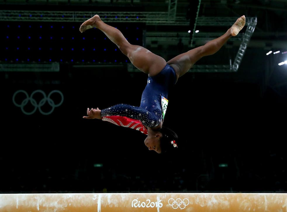 The gold medal-winning gymnast says the medication is to treat attention deficit hyperactivity disorder