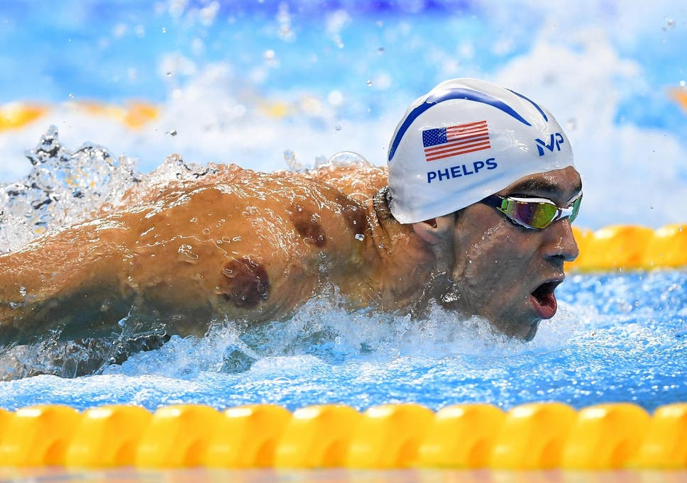 phelps swimming