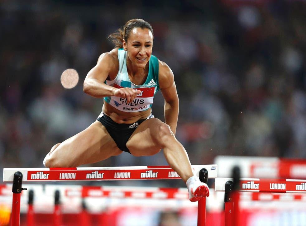 Jessica Ennis-Hill at the IAAF Diamond League Anniversary Games athletics meeting, July 22, 2016